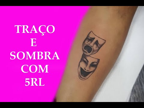Tatuando Com 5rl Chora Agora Ri Depois Tattoo Time Lapse Real