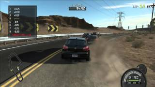 Gameplay Need for Speed ProStreet 1080p