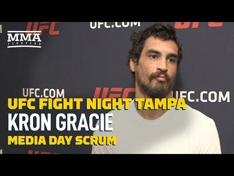 UFC Tampa: Kron Gracie Explains Why He Sought Out Nick And Nate Diaz To Help Him Transition To MMA