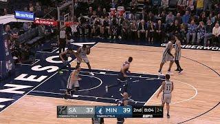 2nd Quarter, One Box Video: Minnesota Timberwolves vs. San Antonio Spurs