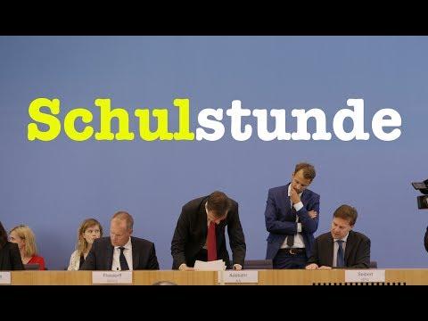 19. Juli 2017 - Komplette Bundespressekonferenz