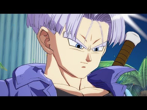 DRAGON BALL FIGHTERZ EARLY GAMEPLAY WALKTHROUGH PART 1 - Trunks (PS4 Pro)