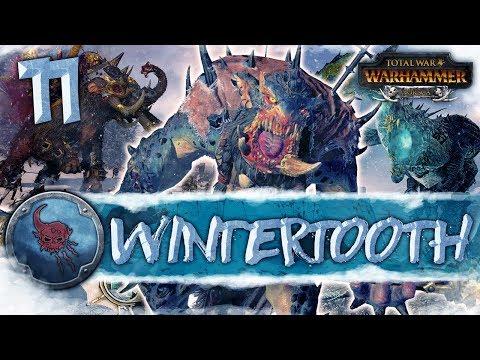 DRAGON OGRE HUNT! Total War: Warhammer - Wintertooth Campaign #11