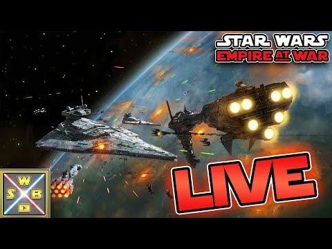 STAR WARS Empire at War! - SWB Livestream