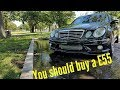 Mercedes E55 AMG REVIEW : First Drive HD 1080P