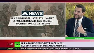 Does US provide weapons to Ukrainian militants in Crimea?