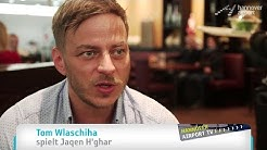 GAME OF THRONES Star am Hannover Airport - Tom Wlaschiha spielt Jaqen H'ghar