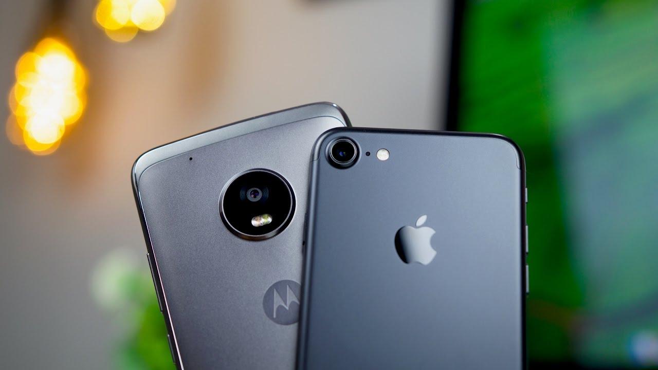 Moto G5 Plus vs iPhone 7 Camera Comparison