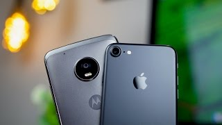 Moto G5 Plus vs iPhone 7 Camera Comparison