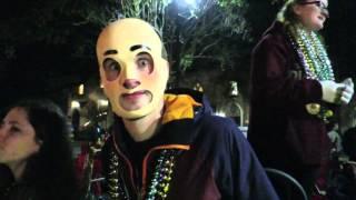 New Orleans Mardi Gras - Freaky Friday (13 February 2015)