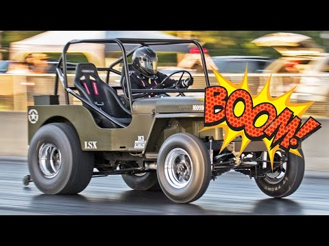 LSx Willy's Jeep GRENADES Engine!