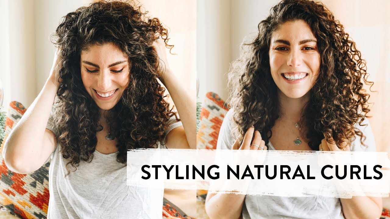 How To Style Curly Hair Using Natural Products The Healthy Maven