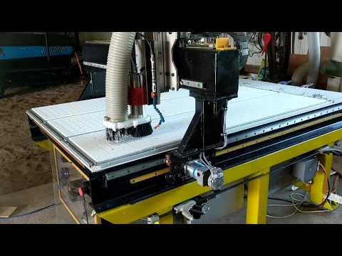 DIY CNC Router- ClearPath Servos, Steel and Epoxy