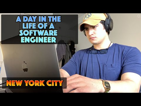 A Day in the Life of a Software Engineer | New York City (WFH)