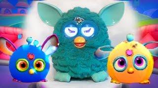 Ферби Коннект #1 Furby Connect World Ищем Ферби друзей мультик игра видео детей виртуальный питомец