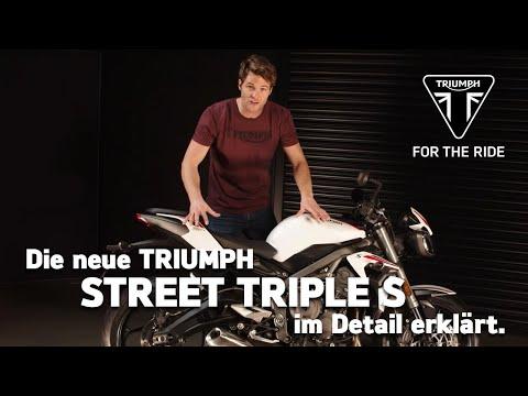 Die neue Triumph Street Triple S - im Detail erklärt