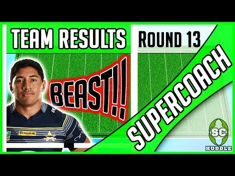 LOLO GOES LARGE!!! | Round 13 Results | NRL SUPERCOACH 2018