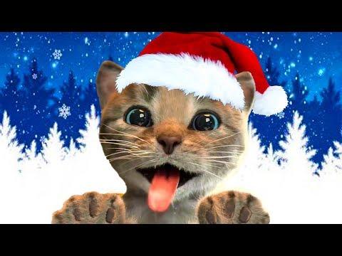 ПРИКЛЮЧЕНИЕ МАЛЕНЬКОГО КОТЕНКА / мультик игра: котик стал Дедом Морозом или Сантой #ПУРУМЧАТА