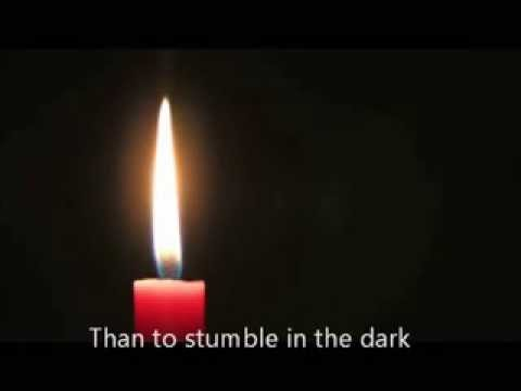 One Little Candle with Lyrics