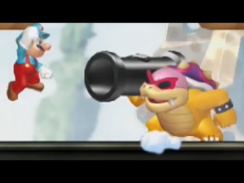 New Super Mario Bros. U Walkthrough - World 6 - Rock-Candy Mines (All Star Coins)
