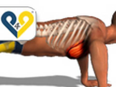 Home chest exercise: Push Up