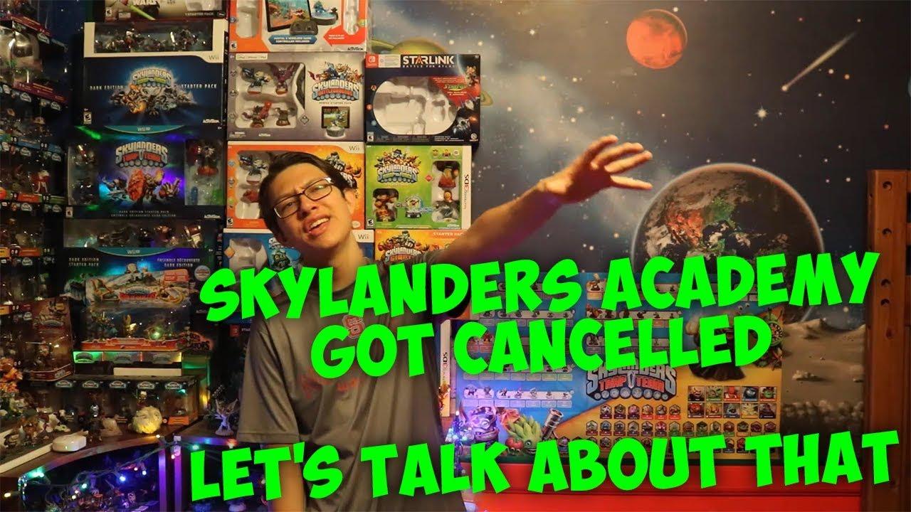 Skylanders Academy Season 4 Was Cancelled - Let's Talk About It