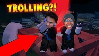 BACON HAIR TROLLING IN JAILBREAK?! (Roblox Jailbreak)