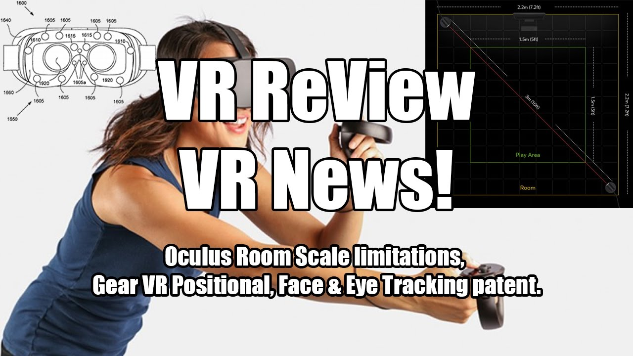 VR ReView is VR News: Oculus Room Scale limitations & Gear VR Positional  Face & Eye Tracking patent