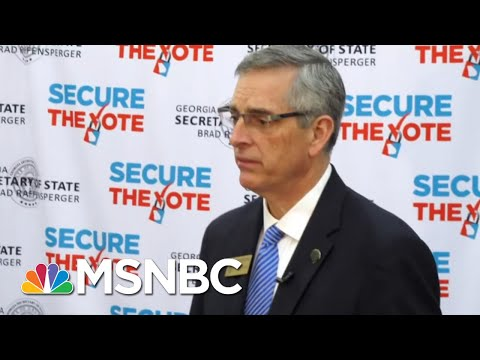Trump Backs Opponent Of Georgia Election Official Who Wouldn't 'Find The Votes' | All In | MSNBC