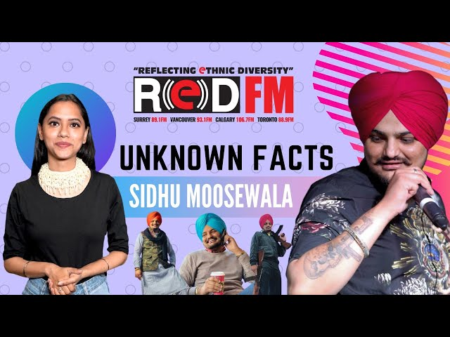 Unknown facts about Sidhu Moosewala | Icons of Punjab
