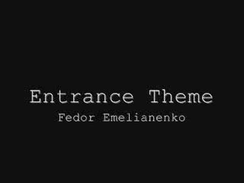 MMA Entrance Theme - Fedor Emelianenko