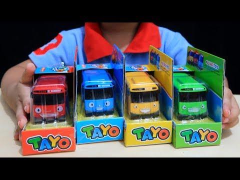Anak Lucu Review Mainan Tayo The Little Bus Belajar Warna Berhitung Sambil Bermain Hai Tayo Youtube