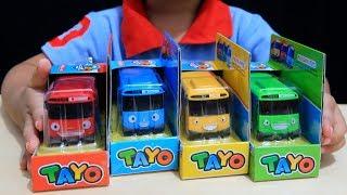 Anak Lucu Review Mainan Tayo The Little Bus Belajar Warna & Berhitung Sambil Bermain Hai Tayo