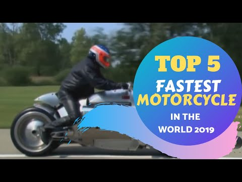 Top 5 Fastest Motorcycle In the World 2019