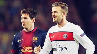 Why did David Beckham retire because of Lionel Messi? | Oh My Goal