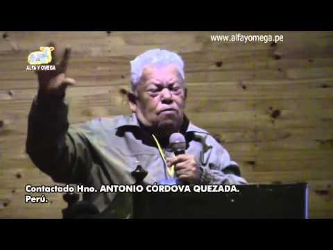 Viví con Extraterrestre Alfa Y Omega. Contactado Antonio Córdova Quezada. Congreso UFO 2015 Huancayo