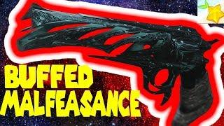 Yellow bar taken are screwed!! - MALFEASANCE BUFF review - DESTINY 2 : Update 2.0.5