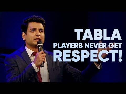 Why Tabla Players Are Never Respected  Kenny Sebastian  Don't Be That Guy