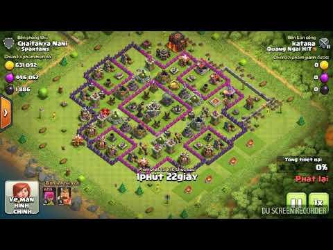 Cách kiếm dầu vàng nhanh nhất clash fo clans