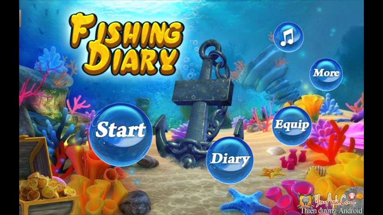 Hướng dẫn hack game bắn cá Fishing Diary full tiền , full vỏ sò