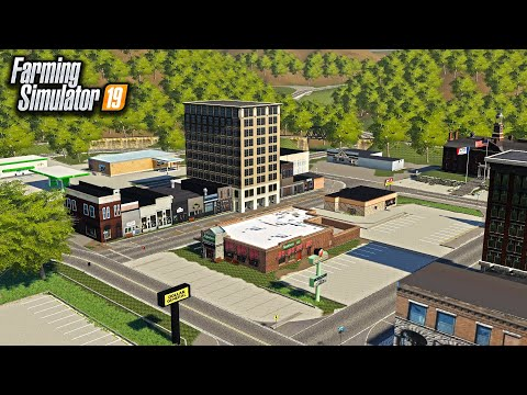 WELCOME TO IOWA! (BEST MAP IN FARMING SIMULATOR) | FS19