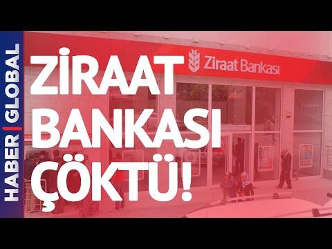 Milyonlarca Vatandaşa Kötü Haber! Ziraat Bankası'na Erişilemiyor!