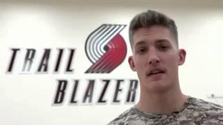 Hoops for Troops: Portland Trail Blazers