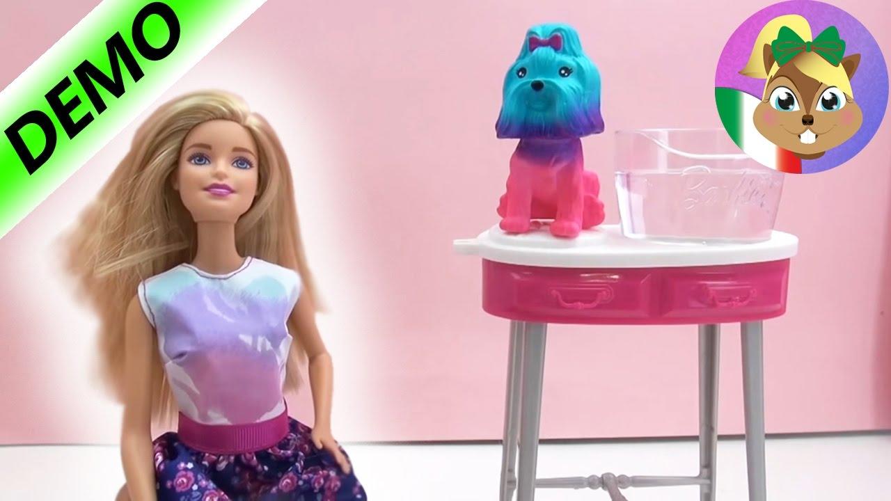 """Parrucchiere Per Cani Di Barbie â€"""" Divertimento Di Colori"""