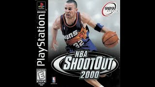 NBA ShootOut 2000 (PlayStation) - West All-Stars vs. East All-Stars