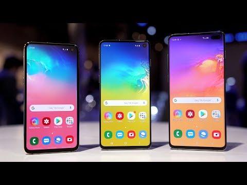 Mein erster Eindruck vom Samsung Galaxy S10! (Unboxing & Hands-On) - felixba