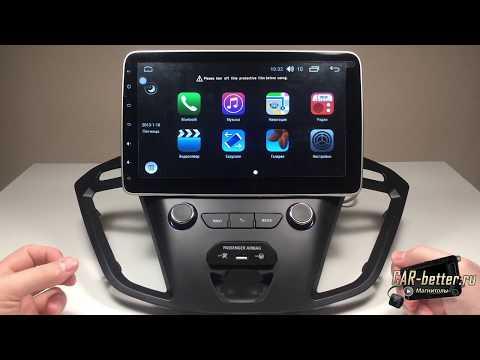 Магнитола для Ford Tourneo/Transit Custom от 2012г (Winca W2-W1019)