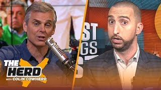 Nick Wright and Colin Cowherd disagree on almost every topic – but Odell Beckham Jr. | THE HERD