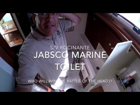 Jabsco Marine Toilet Repair   Part 1