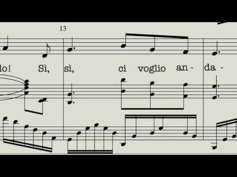 Accompaniment (Gmajor-low) O mio babbino caro -with Melody-